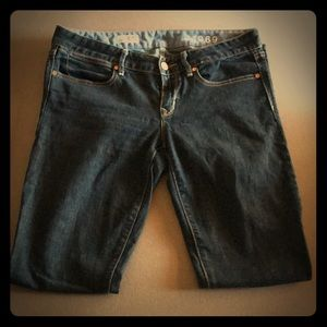 Gap Jeans 29/8r skinny great condition